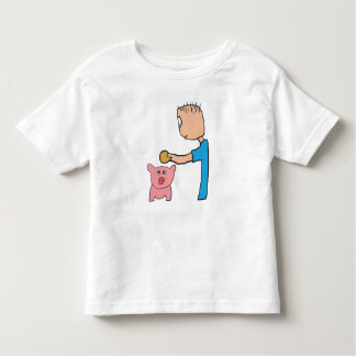 Piggy Bank Toddler T-shirt