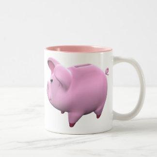 Piggy Bank Toon Coffee Mug