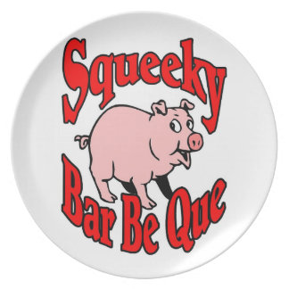 Piggy BBQ Party Plate