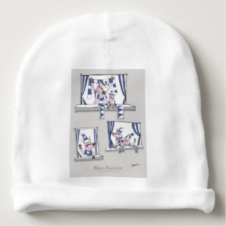 piggy blues forever baby beanie