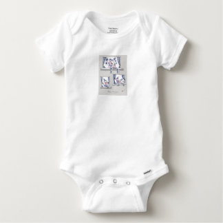 piggy blues forever baby onesie