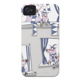 piggy blues forever Case-Mate iPhone 4 cases