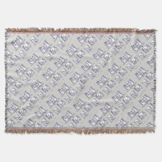 piggy blues forever throw blanket