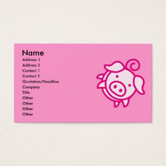 Piggy Business Card