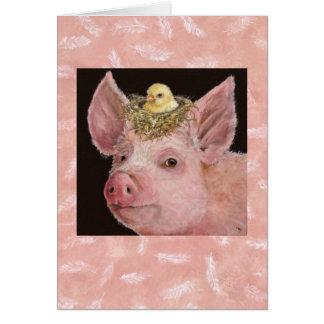 Piggy card
