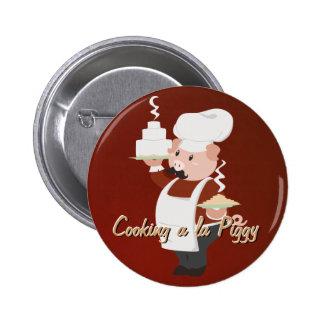 Piggy Chef Button