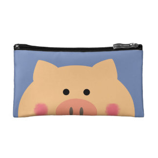 Piggy Face Cosmetic Bag