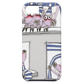 piggy forever blue iPhone 5 case
