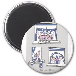 piggy forever blue magnet