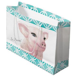 """Piggy Gift Bag """"So Precious"""""""