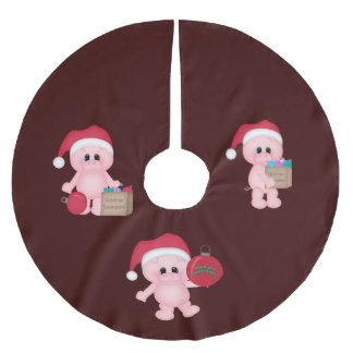 Piggy Helpers Christmas Tree Skirt