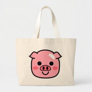 Piggy Large Tote Bag