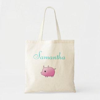 Piggy Love Tote Bag