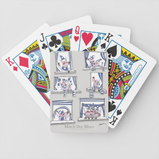 piggy matchday blues bicycle playing cards