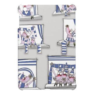 piggy matchday blues iPad mini cover