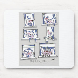 piggy matchday blues mouse pad