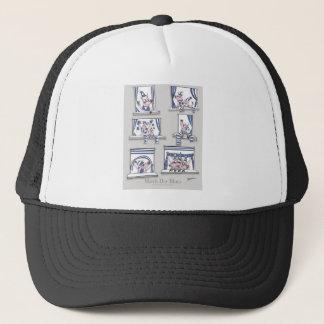 piggy matchday blues trucker hat