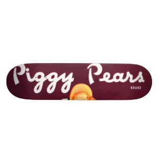Piggy Pears Skate Board
