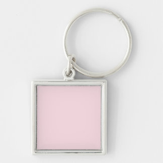 Piggy Pink Solid Color Key Chain