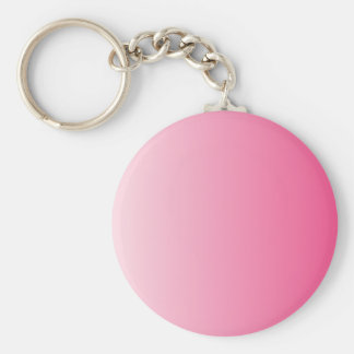 Piggy Pink to French Rose Vertical Gradient Keychain