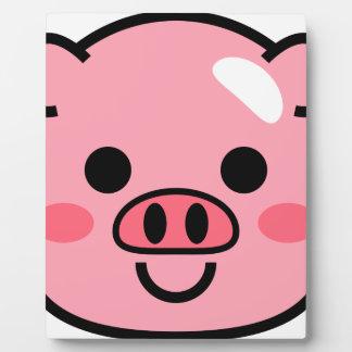 Piggy Plaque