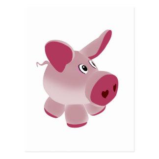 Piggy Postcards