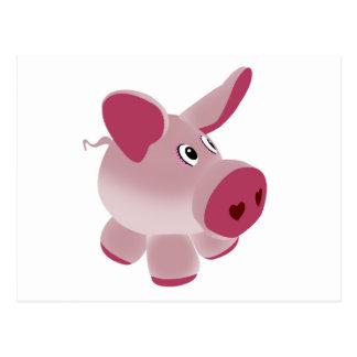 Piggy Postcard
