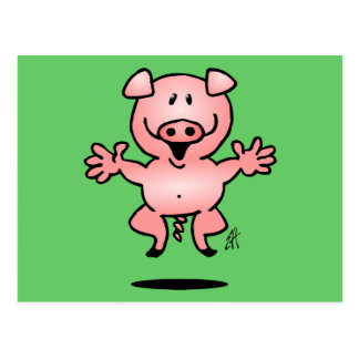 Piggy Post Cards