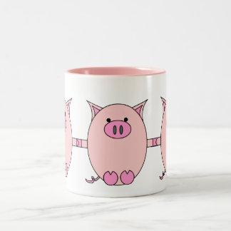 Piggy Power - Pink Piggies Coffee Mug