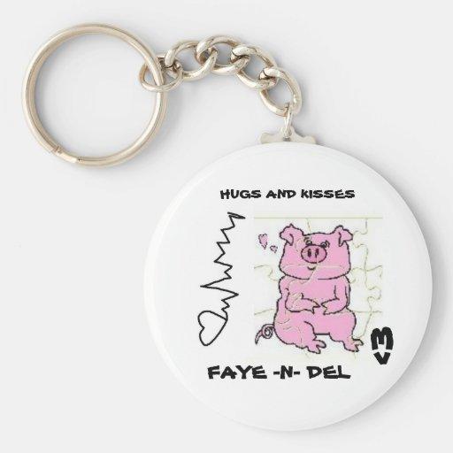 PIGGY PUZZLE keychain
