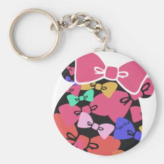 Piggy s face-ribon- keychains