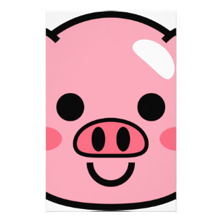 Piggy Stationery