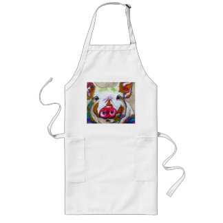 Piggy Suggests Going Vegetarian! Long Apron