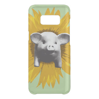 Piggy Sunflower Uncommon Samsung Galaxy S8 Case