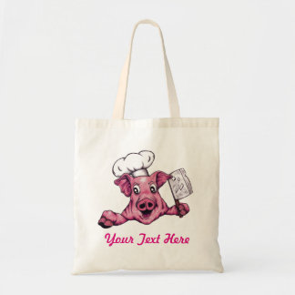 Piggy The Hamicidal Maniac Funny Cute Original Art Tote Bag