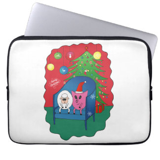 PiGgy with Sheepy! Laptop Sleeves