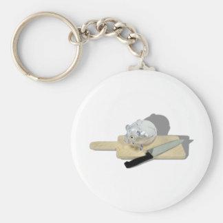 PiggyBankCuttingBoard092110 Basic Round Button Keychain