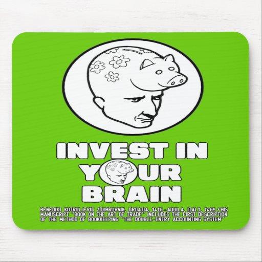 Piggybankhead Kotruljevic Invest Mouse Pad