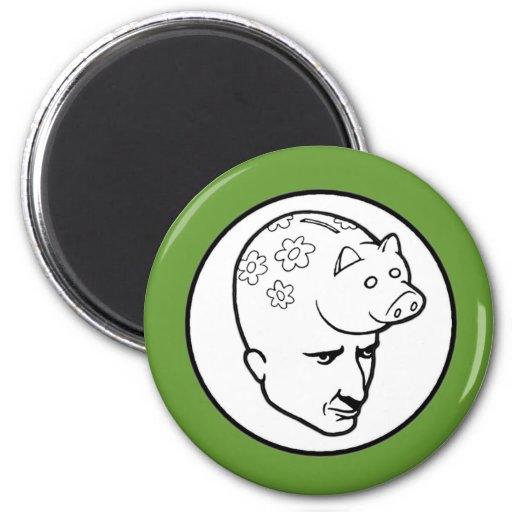 Piggybankhead Kotruljevic Magnet