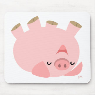 Piggy's having fun mousepad