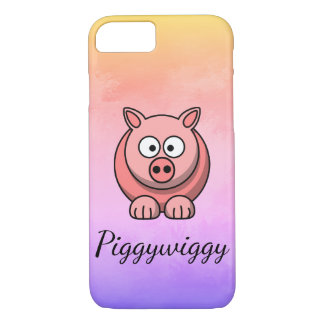 PiggyWiggy Little Pigling Pastel Cute Piglet Case-Mate iPhone Case
