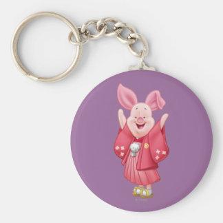 Piglet 10 keychain