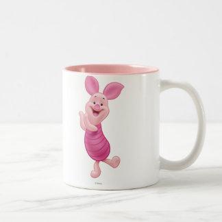 Piglet 7 Two-Tone coffee mug