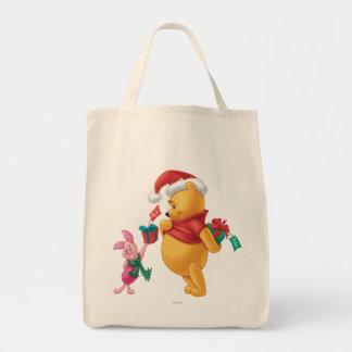 Piglet Gifting Pooh Tote Bag