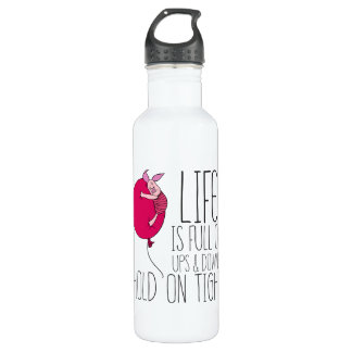 Piglet | Life is Full of Ups & Downs 710 Ml Water Bottle