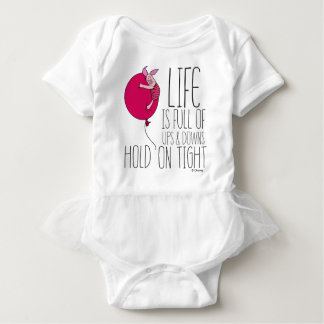 Piglet | Life is Full of Ups & Downs Baby Bodysuit