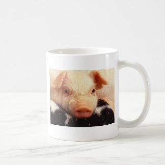 Piglet Pig Face Snout Coffee Mug