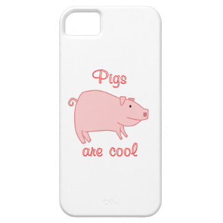 Pigs are Cool iPhone 5 Cases