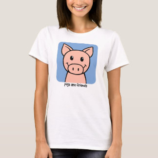 Pigs Are Friends T-Shirt