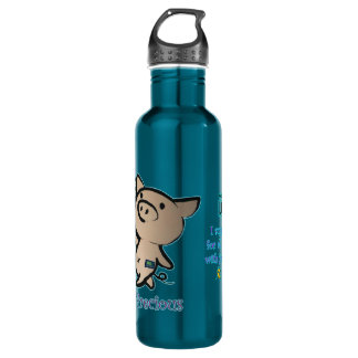 Pigs are Precious JDRF 710 Ml Water Bottle